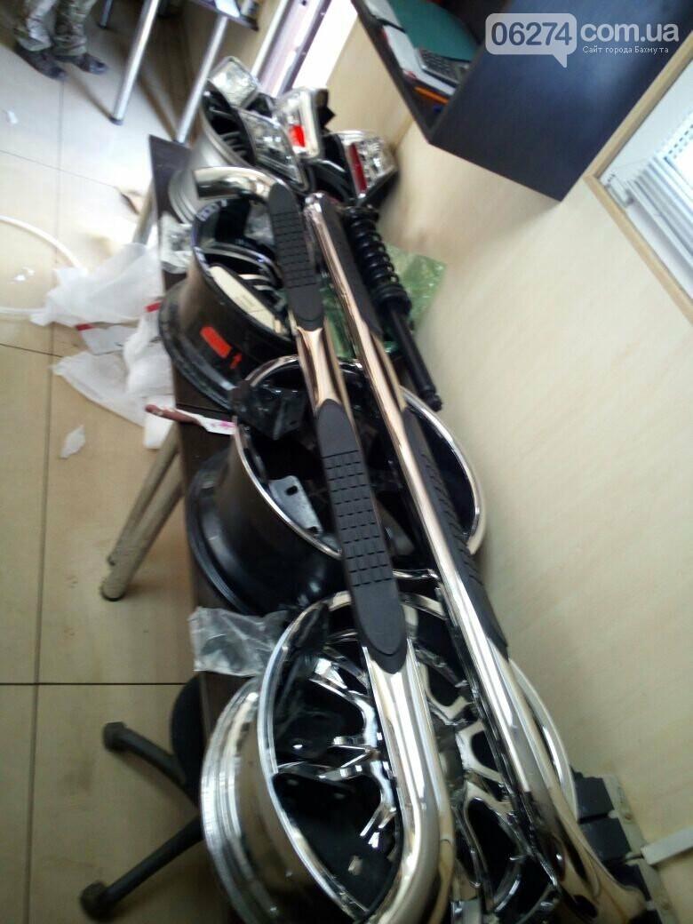 В Бахмутском районе задержали луганчанина с автозапчастями на 77 тысяч гривен, фото-1