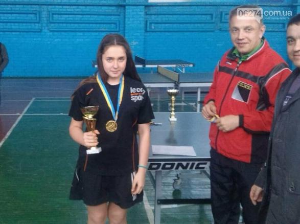 Бахмутчане стали лучшими на областном Чемпионате по настольному теннису, фото-2