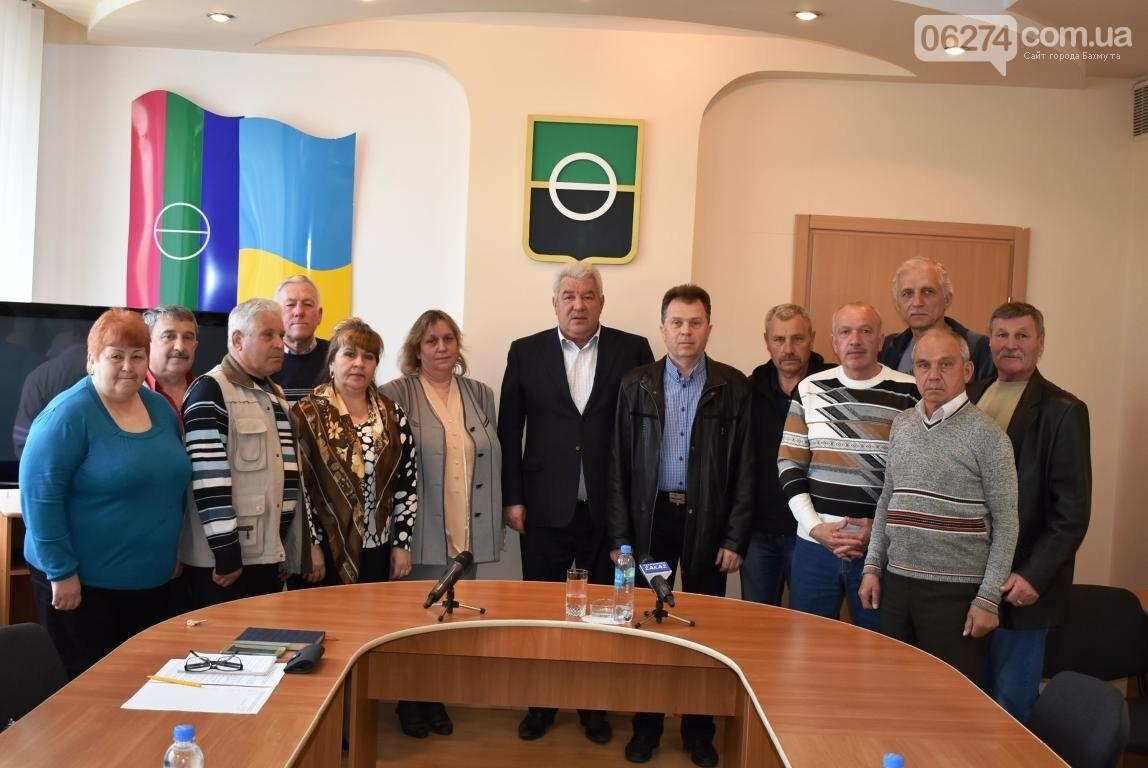Бахмутский городской голова Алексей Рева встретился с ликвидаторами аварии на Чернобыльской АЭС, фото-8