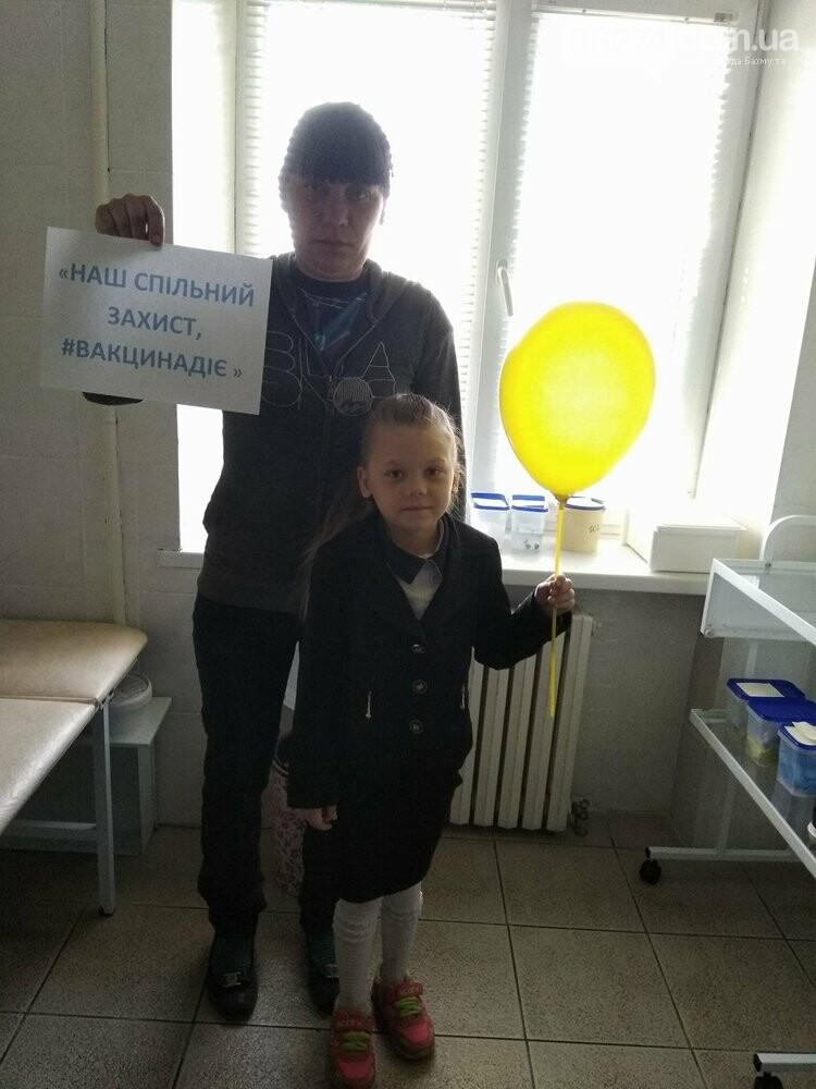 В Бахмуте в рамках недели иммунизации получили прививки 159 детей, фото-4