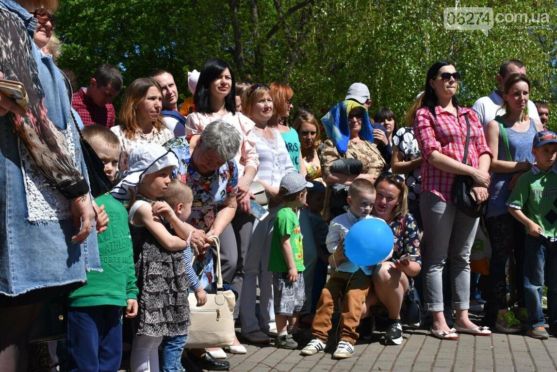 Бахмут встретил Первомай весельем и концертом (ФОТО), фото-13