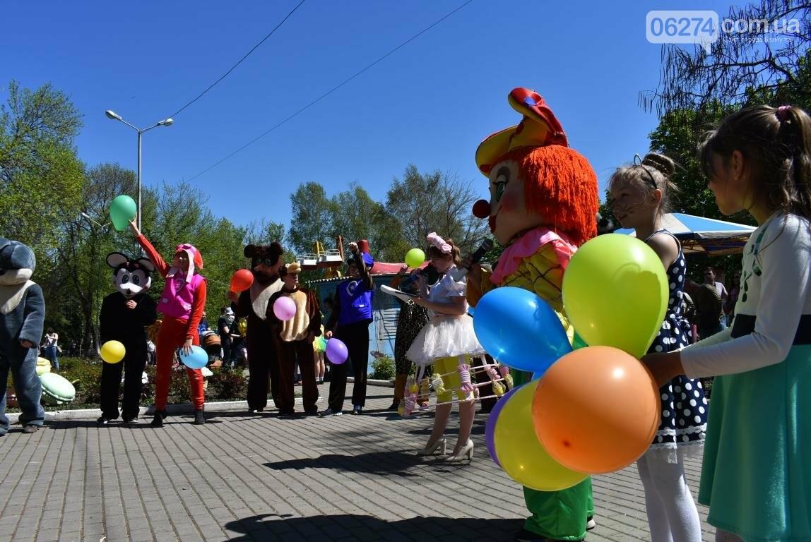 Бахмут встретил Первомай весельем и концертом (ФОТО), фото-2