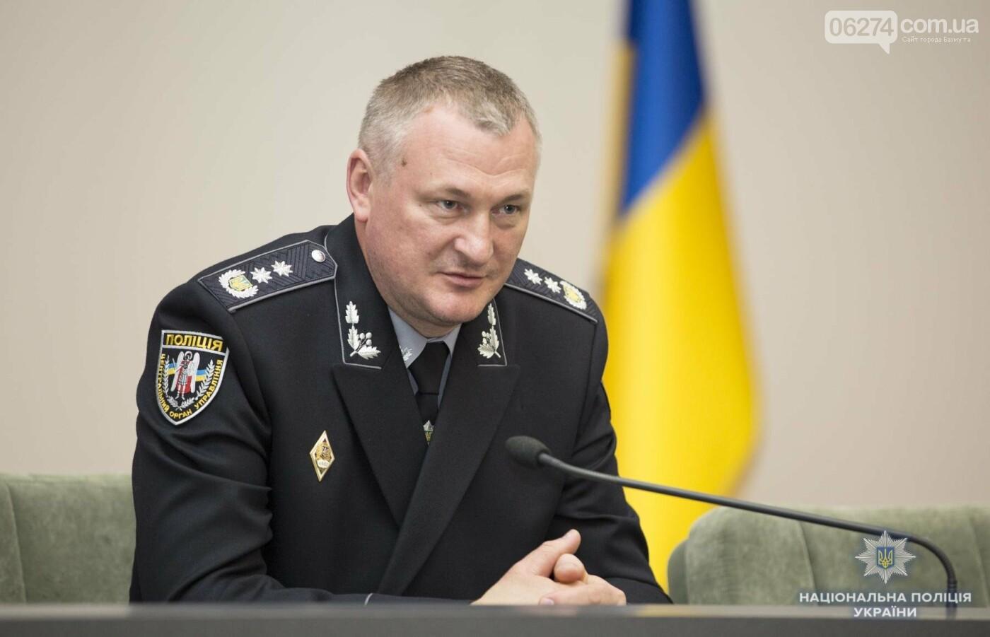 Начальник криминальной полиции Бахмута Ярослав Меженный получил награду от главы Нацполиции Сергея Князева, фото-1