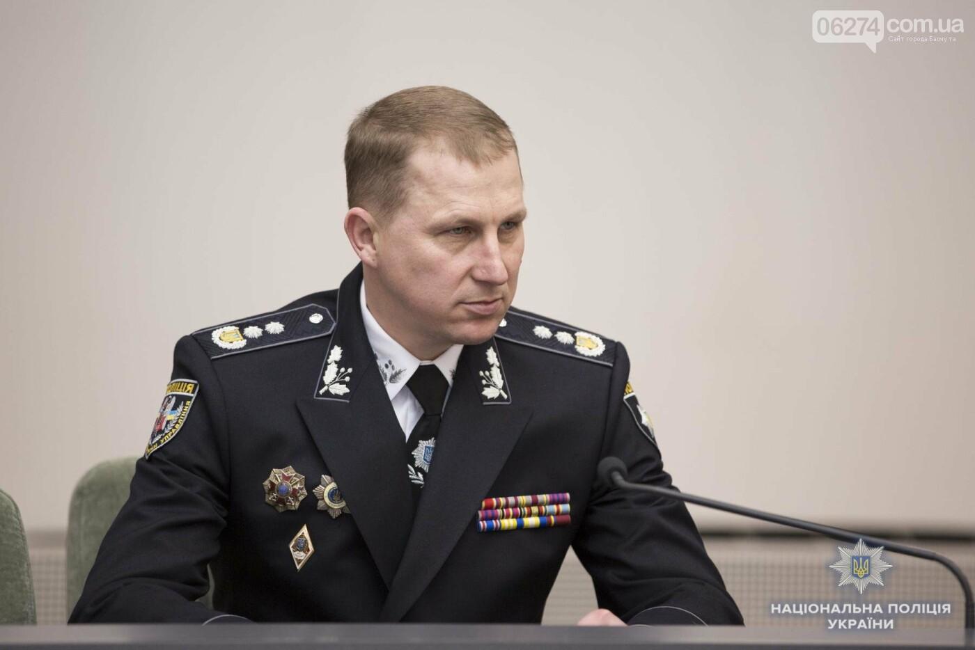 Начальник криминальной полиции Бахмута Ярослав Меженный получил награду от главы Нацполиции Сергея Князева, фото-3