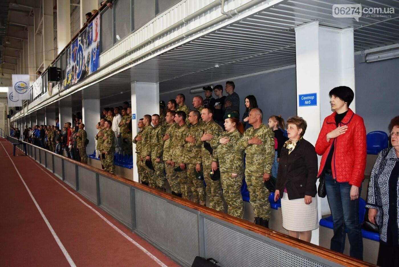 В Бахмуте презентовали спортсменов-олимпийцев Государственной пограничной службы Украины, фото-11