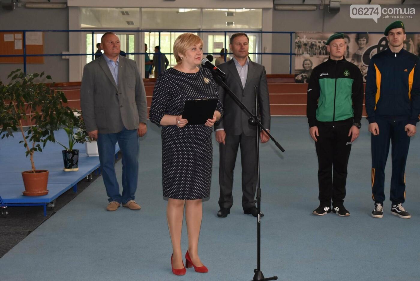 В Бахмуте презентовали спортсменов-олимпийцев Государственной пограничной службы Украины, фото-1