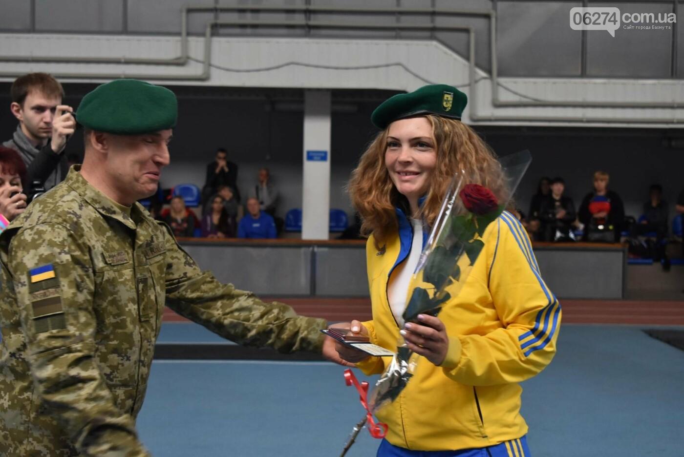 В Бахмуте презентовали спортсменов-олимпийцев Государственной пограничной службы Украины, фото-5