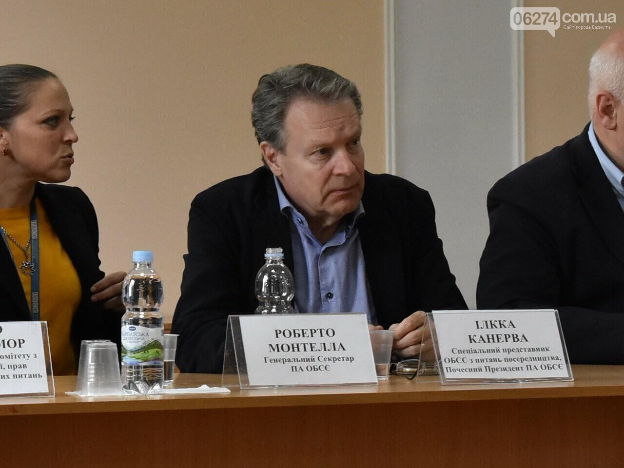 Бахмут посетили представители парламентской ассамблеи ОБСЕ , фото-1