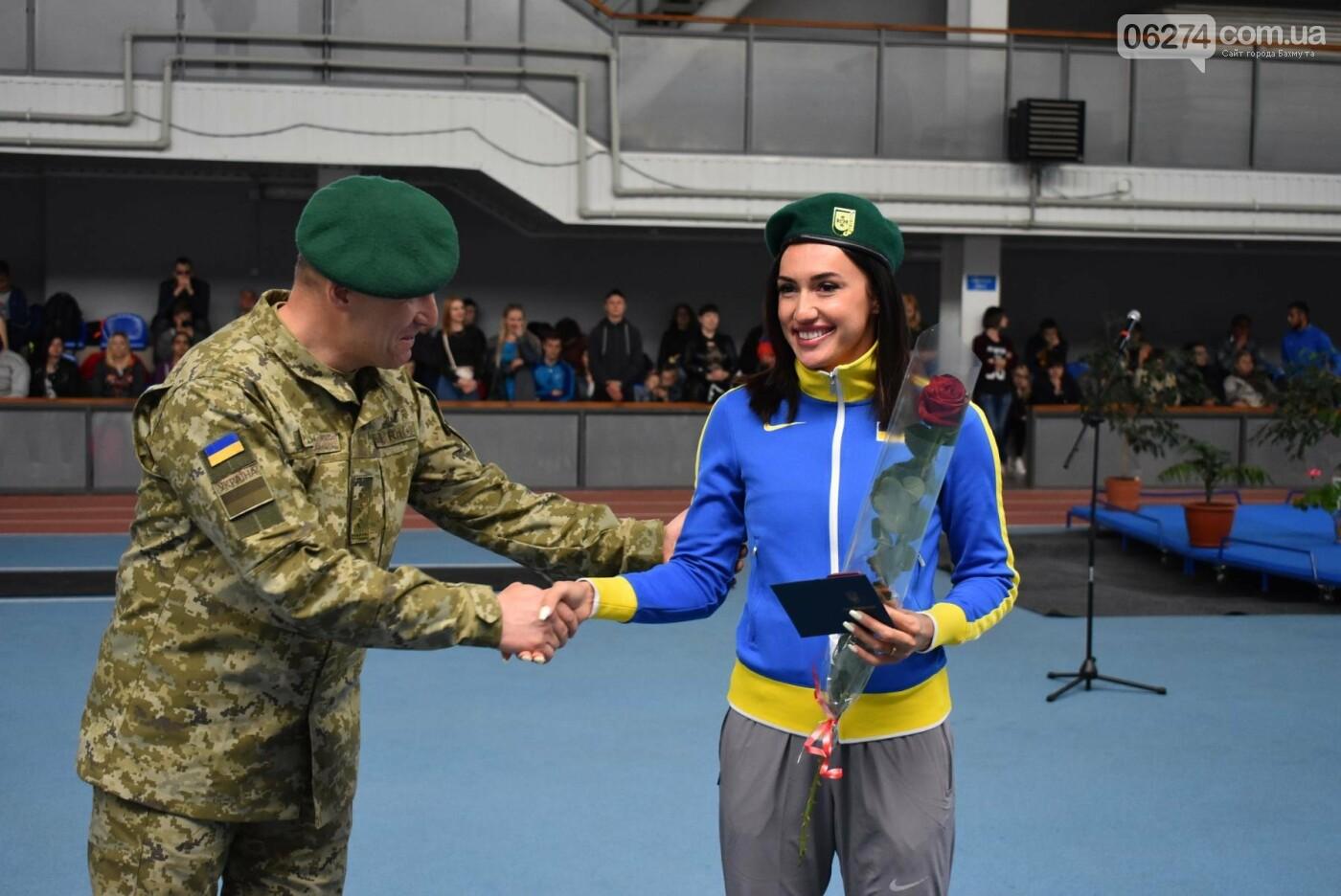В Бахмуте презентовали спортсменов-олимпийцев Государственной пограничной службы Украины, фото-10