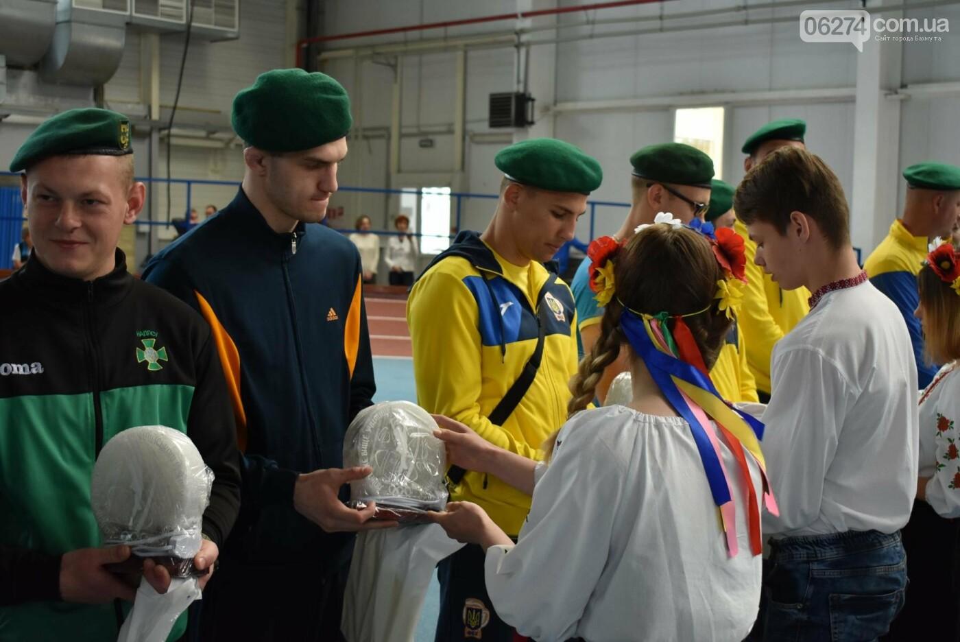 В Бахмуте презентовали спортсменов-олимпийцев Государственной пограничной службы Украины, фото-15