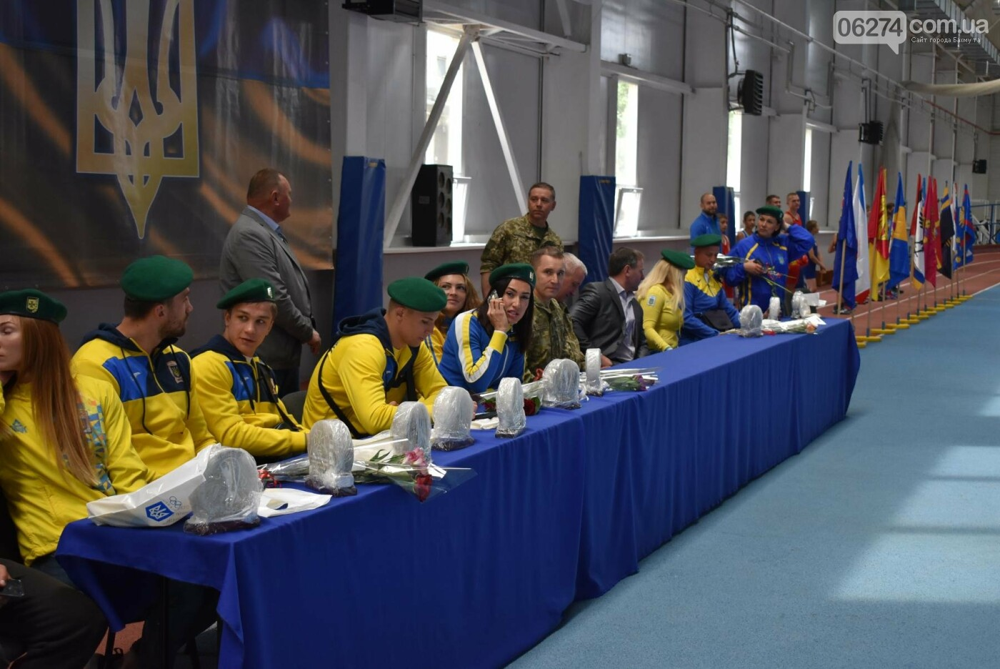 В Бахмуте презентовали спортсменов-олимпийцев Государственной пограничной службы Украины, фото-16