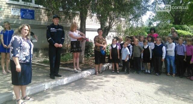 В Бахмутской ОШ №4 прошла учебная эвакуация, фото-9