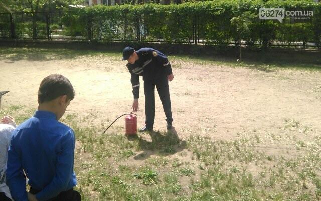 В Бахмутской ОШ №4 прошла учебная эвакуация, фото-3