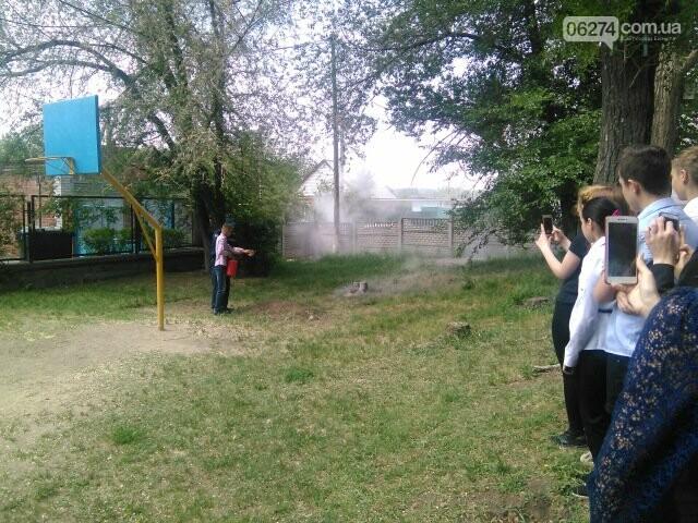 В Бахмутской ОШ №4 прошла учебная эвакуация, фото-11