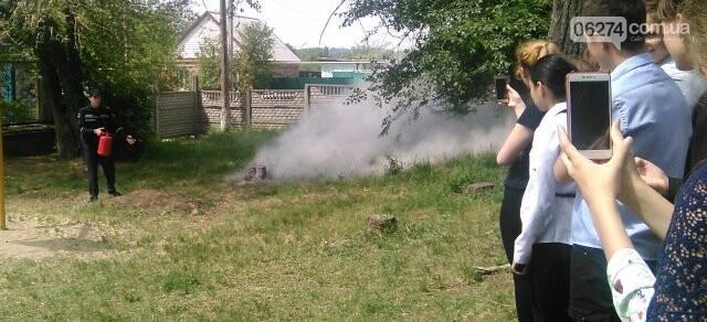 В Бахмутской ОШ №4 прошла учебная эвакуация, фото-8