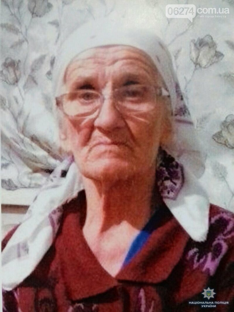 Помогите найти: в Бахмуте бесследно исчезла пожилая женщина (ФОТО), фото-1