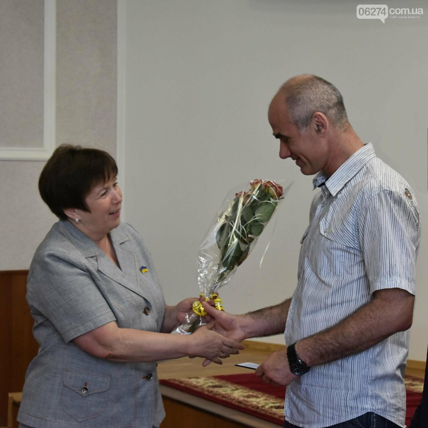 Спортсмены Бахмута получили новые почетные звания, фото-1