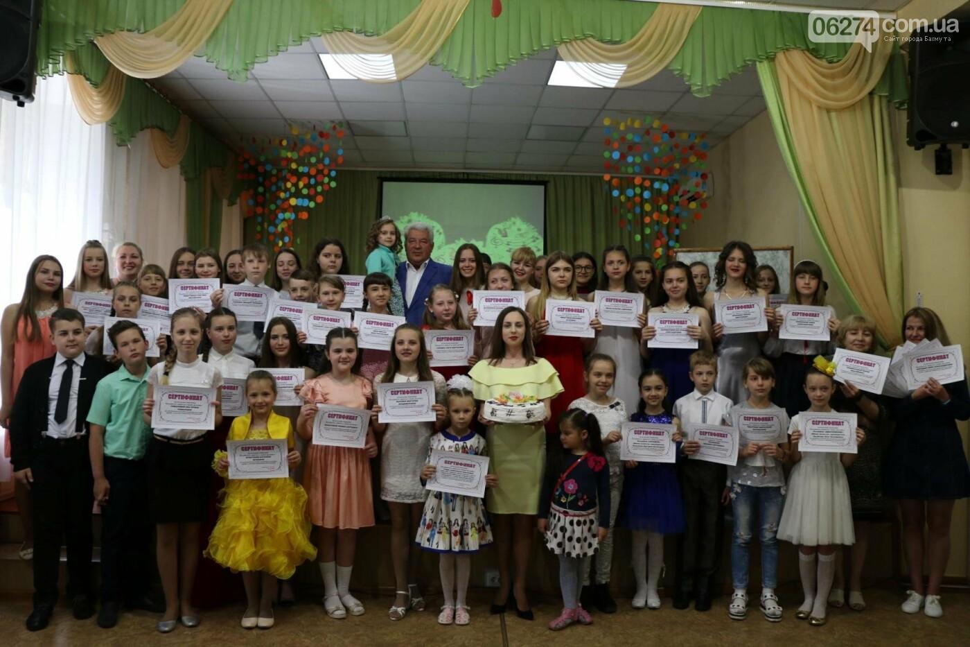 Одаренные дети Бахмута получили стипендии в награду за свое искусство, фото-12