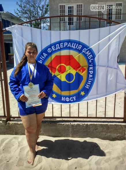 Бахмутчанка стала чемпионкой Украины по пляжному самбо, фото-3
