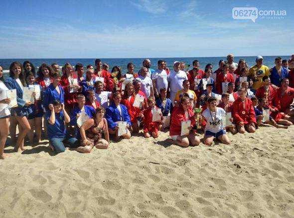 Бахмутчанка стала чемпионкой Украины по пляжному самбо, фото-2