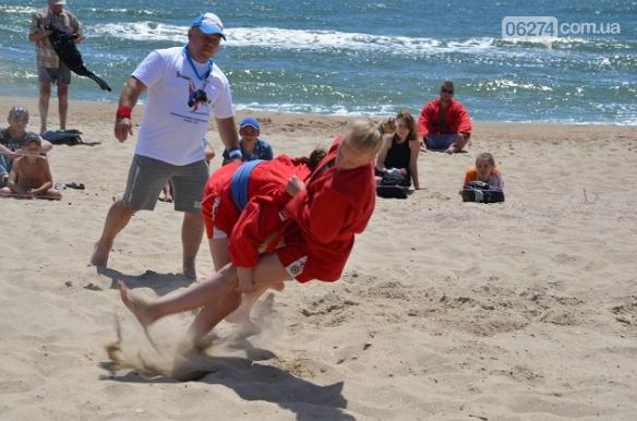 Бахмутчанка стала чемпионкой Украины по пляжному самбо, фото-1