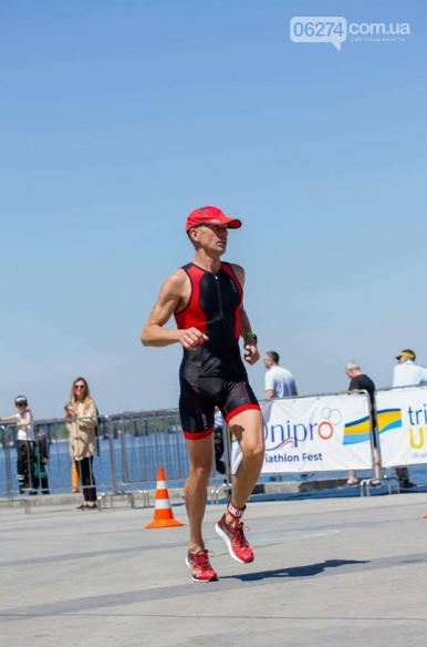 Бахмутчанин Юрий Кожуховский снова принял участие в международном фестивале триатлона в Днепре, фото-1