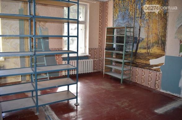 В Бахмуте начался ремонт в библиотеке для слепых, фото-5