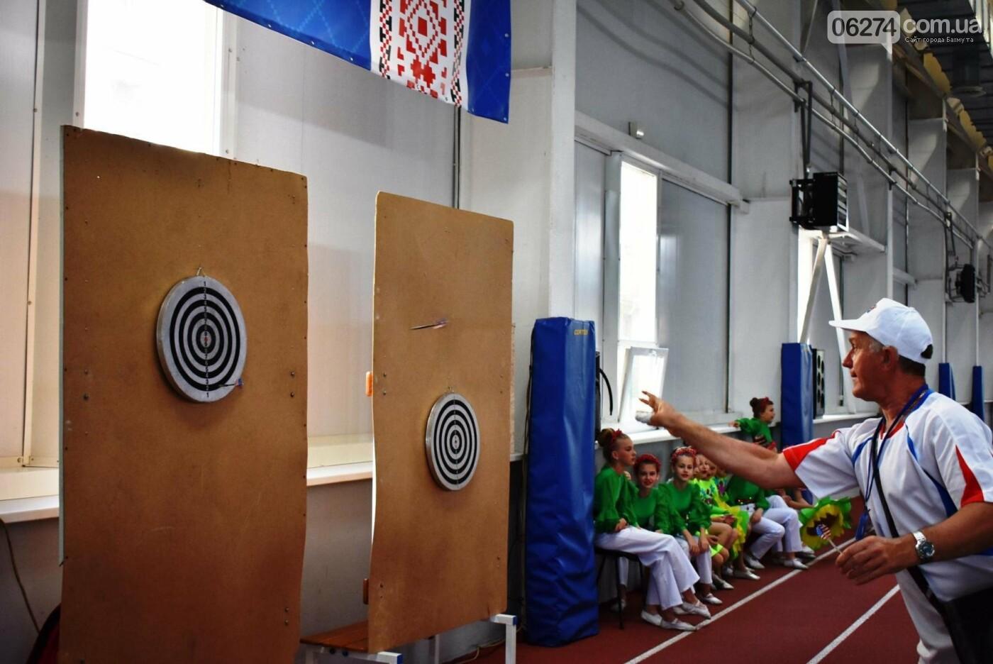 Бахмут четвертый раз принял всеукраинскую спартакиаду «Сила духа», фото-14