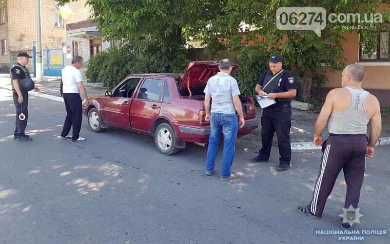 В Бахмутской оперативной зоне за выходные остановлено 37 водителей в состоянии опьянения, фото-1