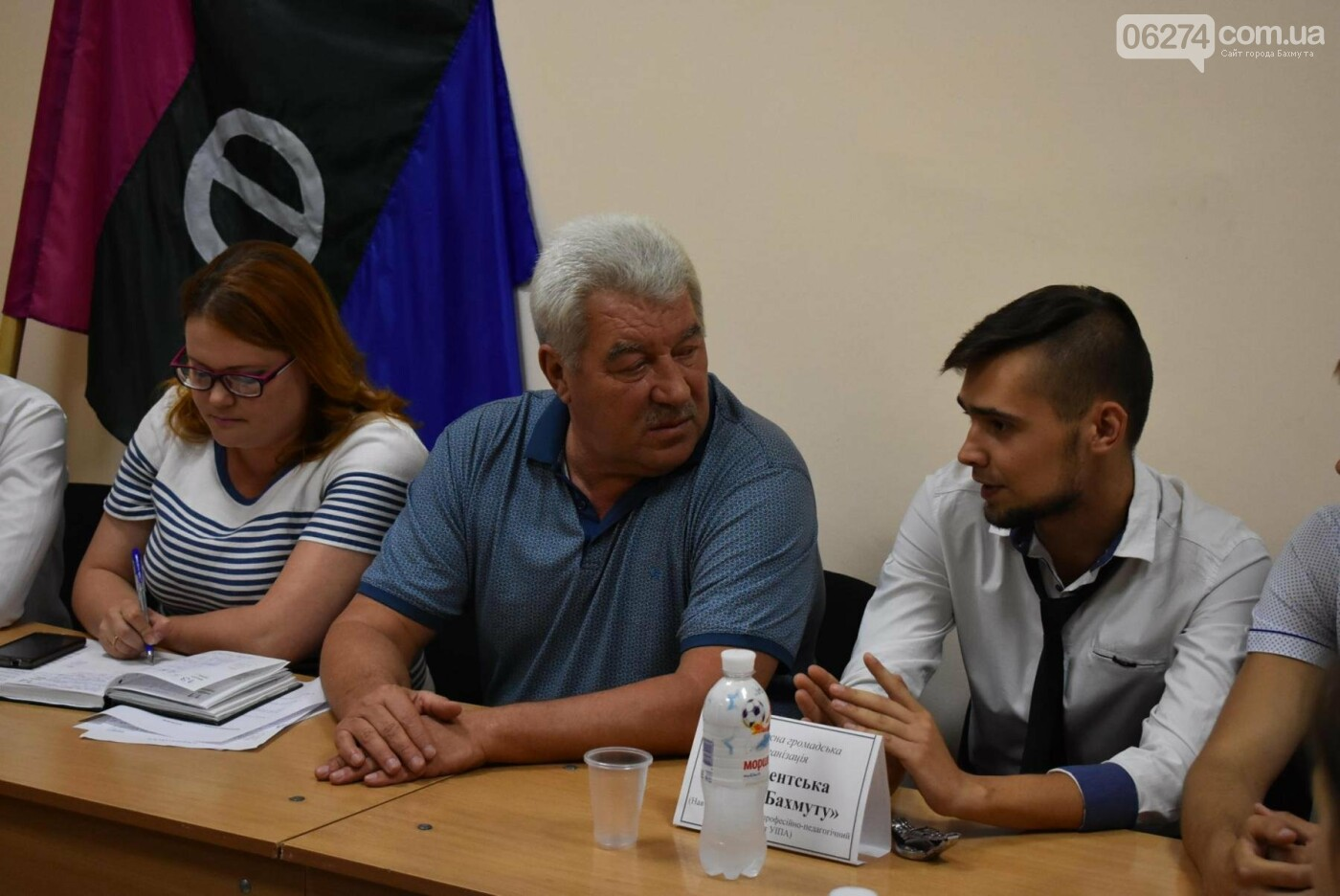 Молодые бахмутчане обсудили перспективы развития города с Алексеем Ревой, фото-2