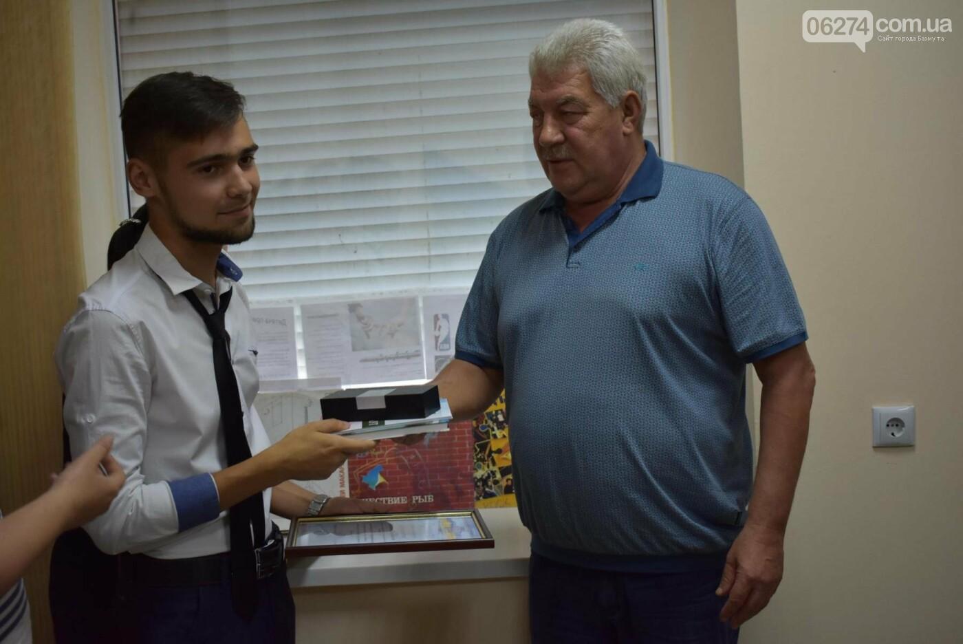 Молодые бахмутчане обсудили перспективы развития города с Алексеем Ревой, фото-4