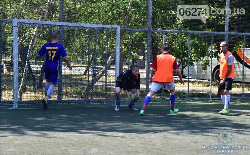 Первое место в турнире по мини-футболу среди силовиков Донетчины заняла команда полиции Бахмута, фото-3