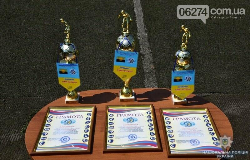 Первое место в турнире по мини-футболу среди силовиков Донетчины заняла команда полиции Бахмута, фото-5