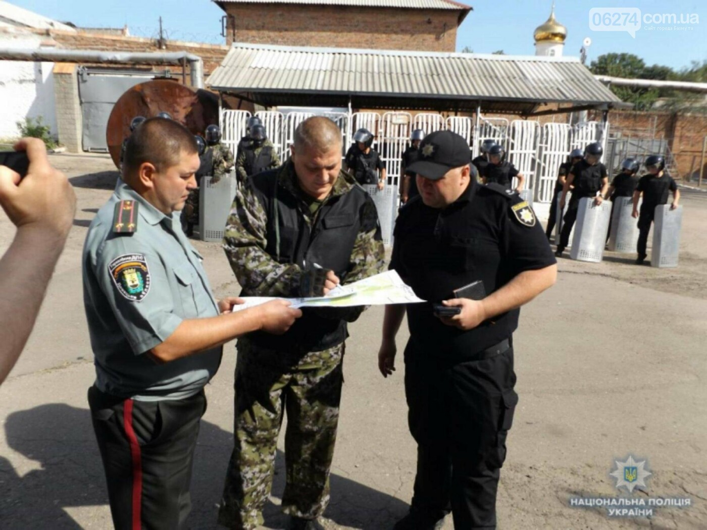 Полиция локализовала «бунт осужденных» в Бахмутском СИЗО, фото-10