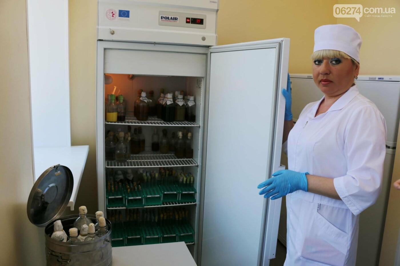 В Бахмуте презентовали современную бактериологическую лабораторию, фото-17