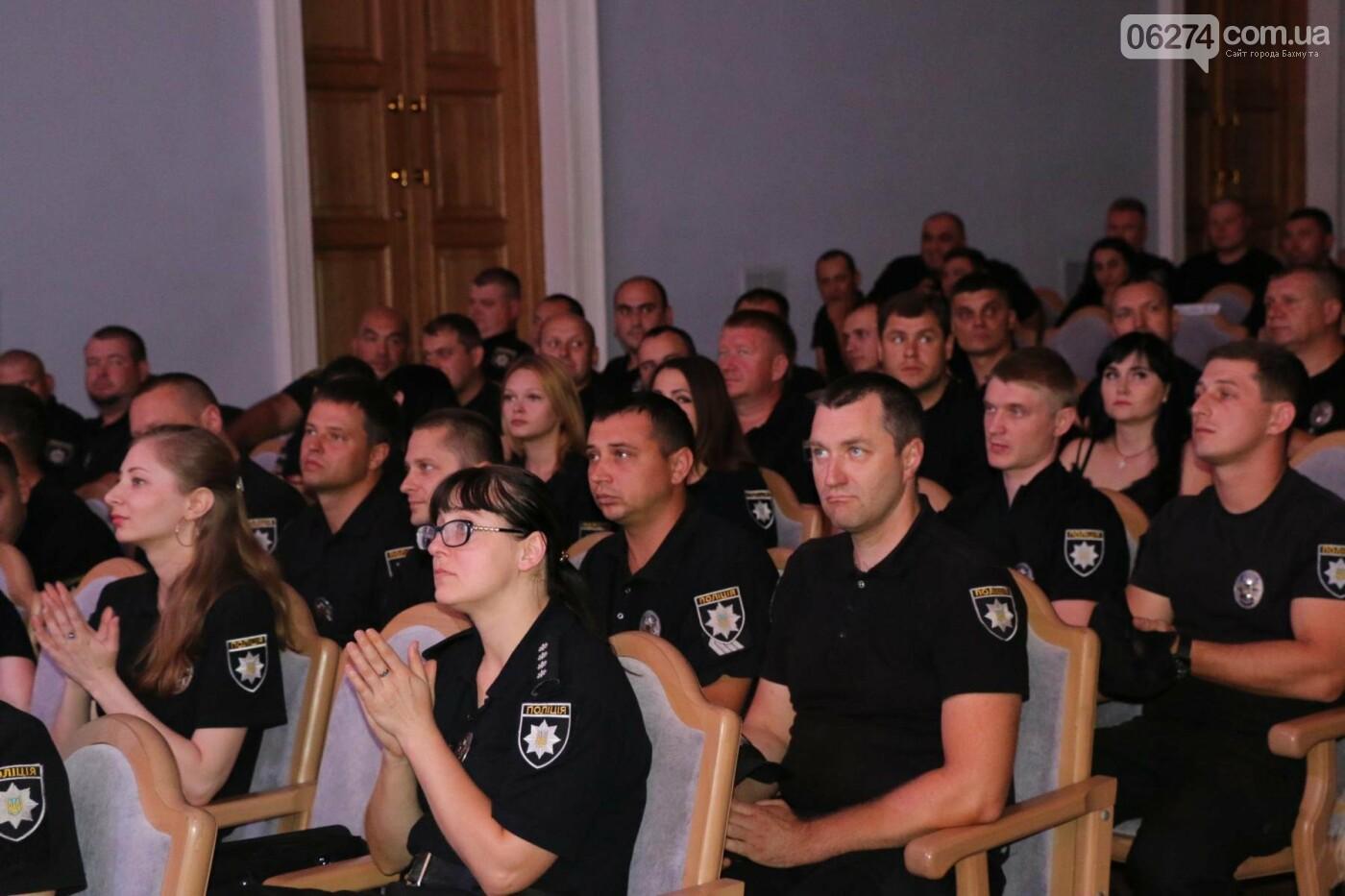 День Национальной полиции Украины отметили в Бахмуте, фото-2