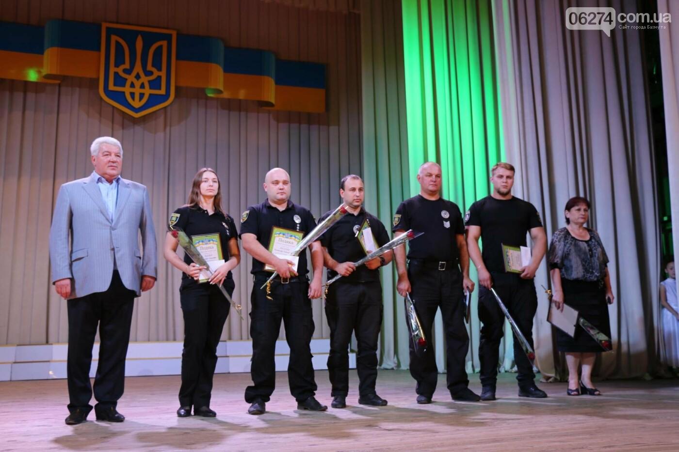 День Национальной полиции Украины отметили в Бахмуте, фото-6