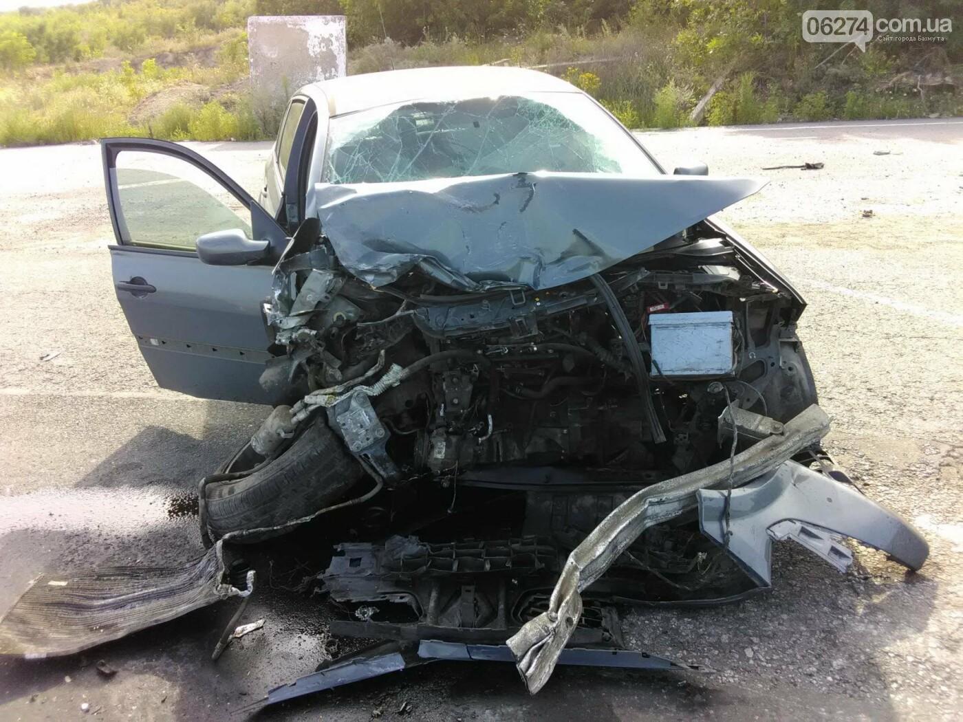 В Бахмутском районе в результате аварии три человека погибли, семь человек получили тяжелые травмы, фото-4