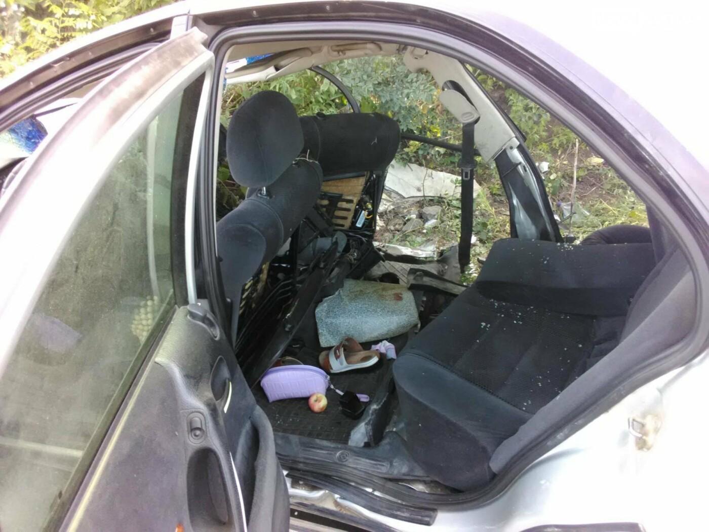 В Бахмутском районе в результате аварии три человека погибли, семь человек получили тяжелые травмы, фото-3