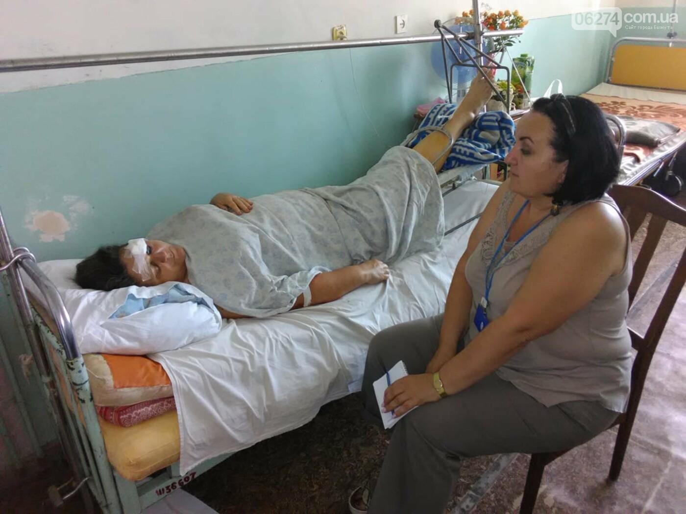 В Бахмутском районе в результате аварии три человека погибли, семь человек получили тяжелые травмы, фото-5