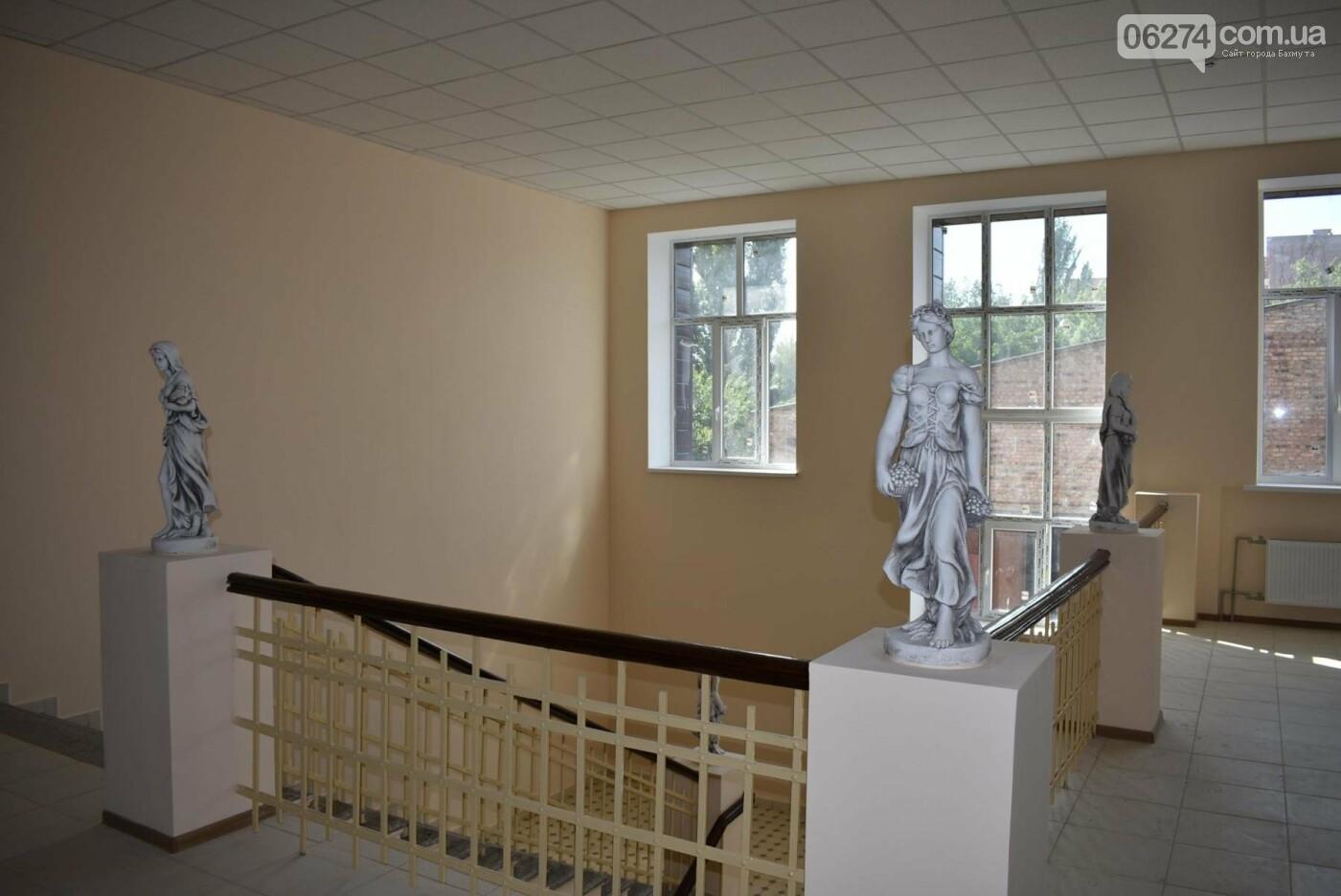 В Бахмуте продолжается реконструкция корпуса колледжа искусств имени Ивана Карабица, фото-5