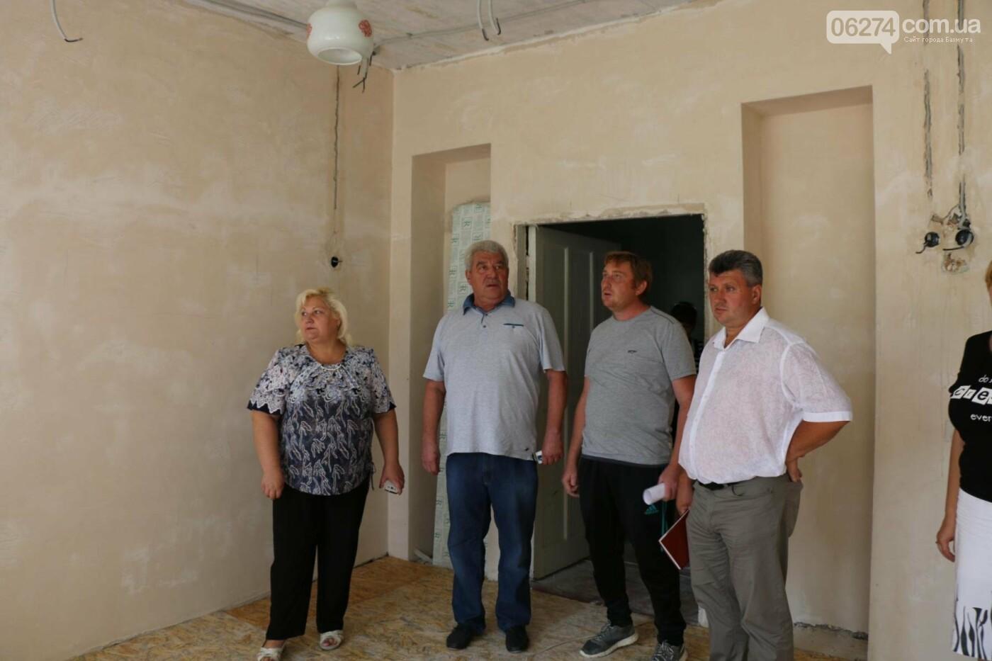 В Бахмуте проходит реконструкция двух школ, фото-13