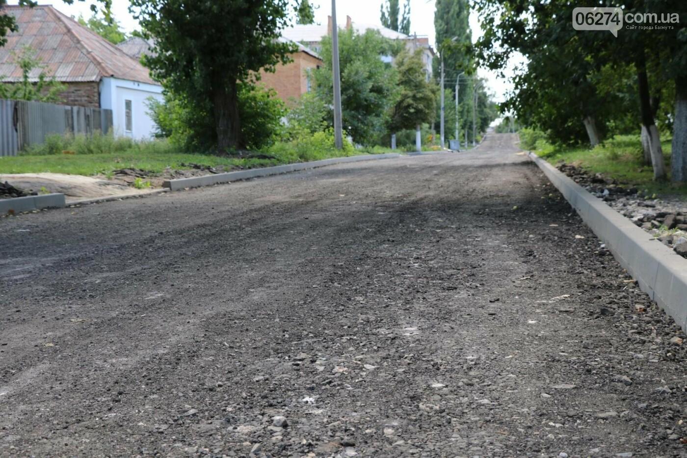 Ремонт дорог в Бахмуте: реконструкция Ростовской продлится до конца года, фото-1