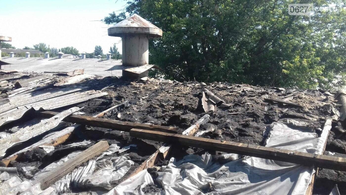 В Бахмутском районе горело аграрное предприятие, фото-1