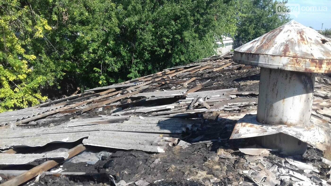 В Бахмутском районе горело аграрное предприятие, фото-2