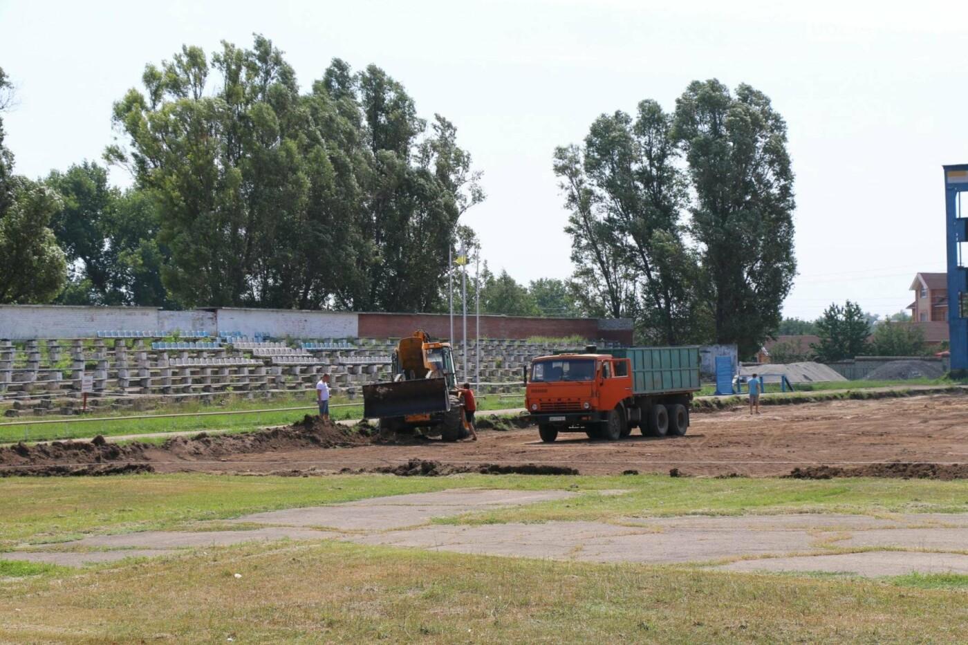 В Бахмуте продолжается реконструкция спортивных объектов, фото-4