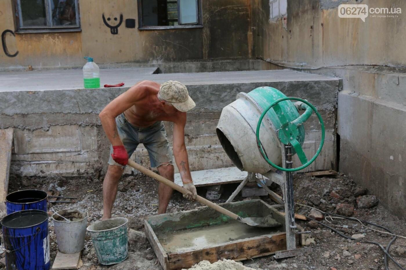 В Бахмуте продолжается реконструкция спортивных объектов, фото-8