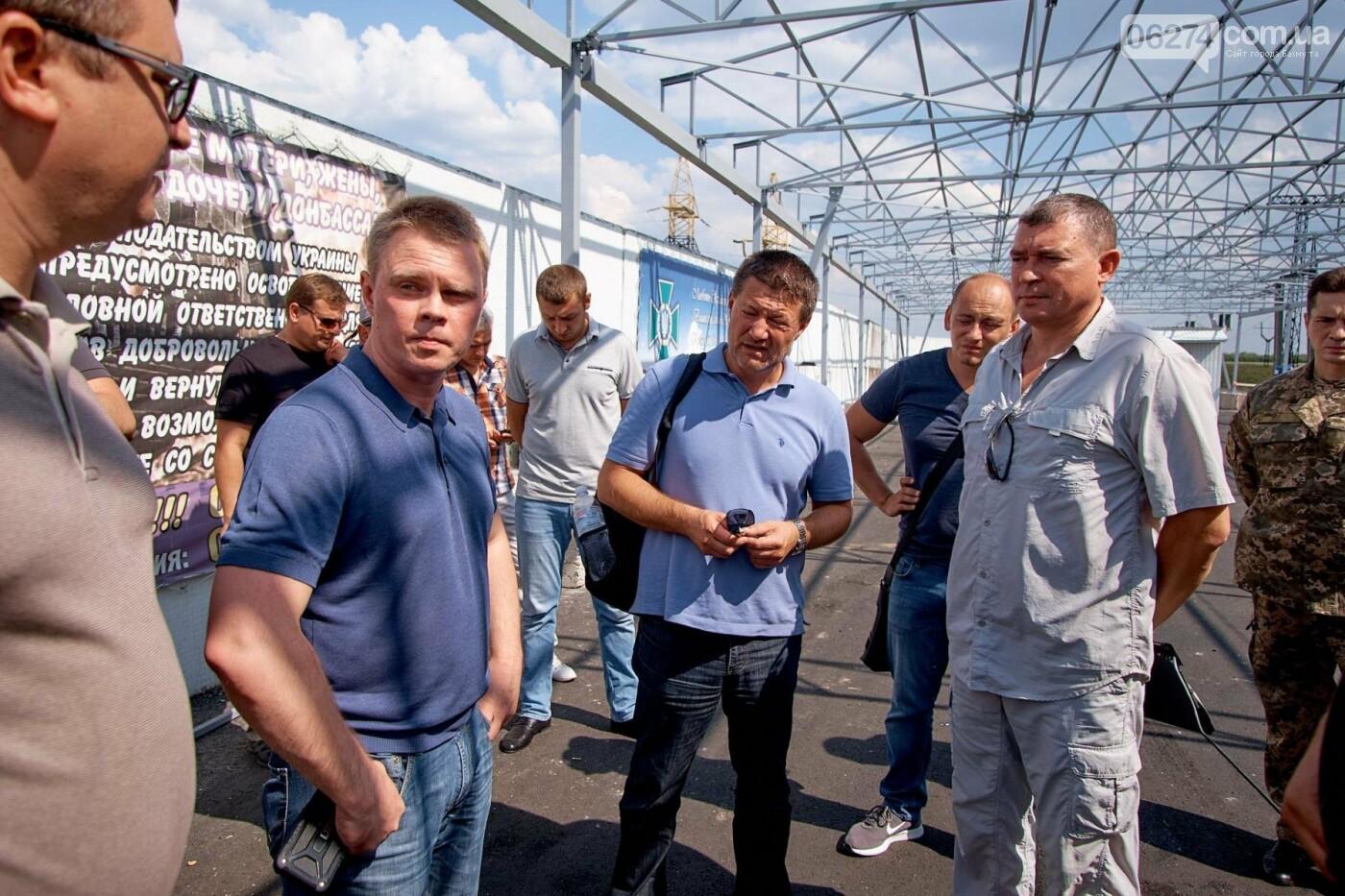 Александр Куць: Благоустройство КПВВ не предусматривает их постоянного функционирования, фото-4