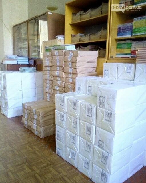 Школы Бахмута практически полностью обеспечены новыми учебниками, фото-7