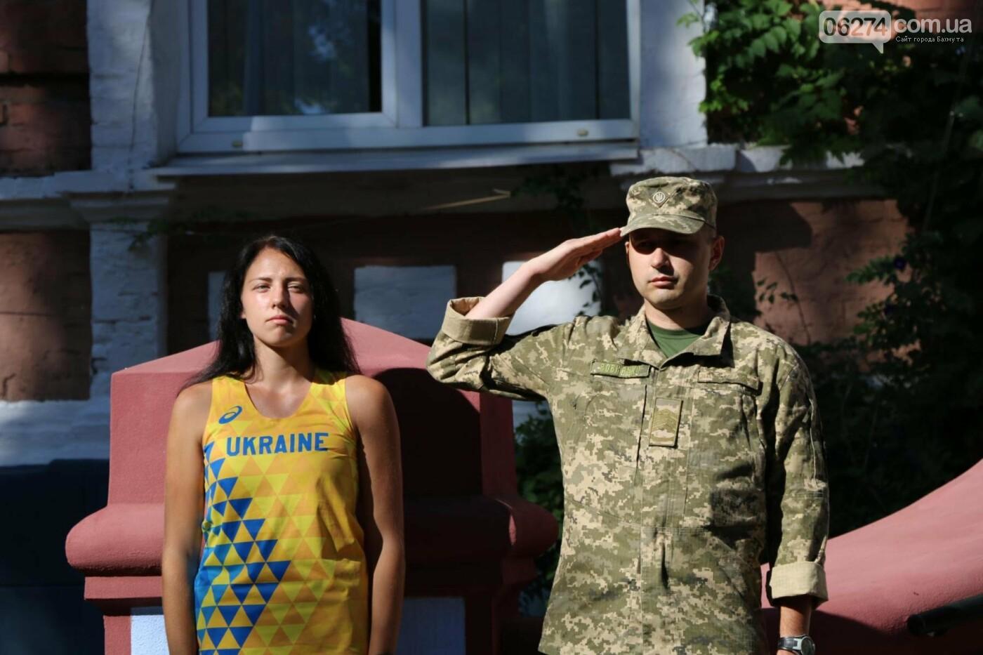 В Бахмуте отметили День государственного флага Украины, фото-20